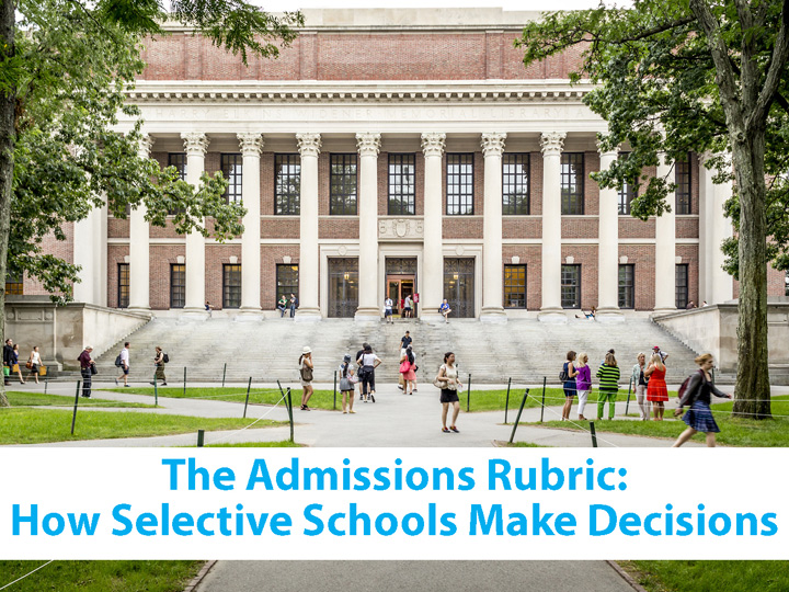 The Admission Rubric