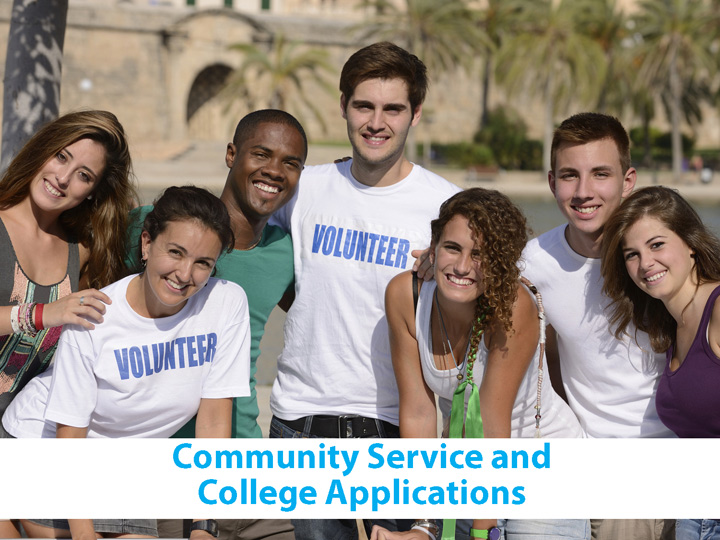 Community Service and College Applications