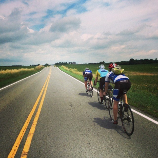 College Counselor Bike Tour 2014
