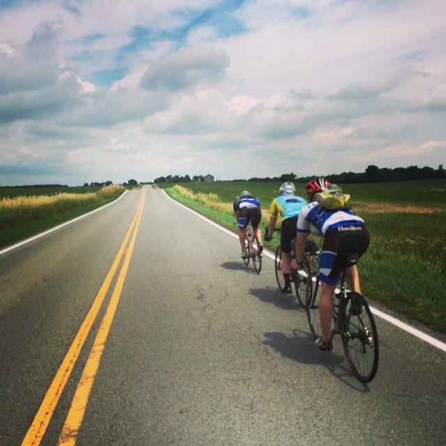 College Counselor Bike Tour 2014