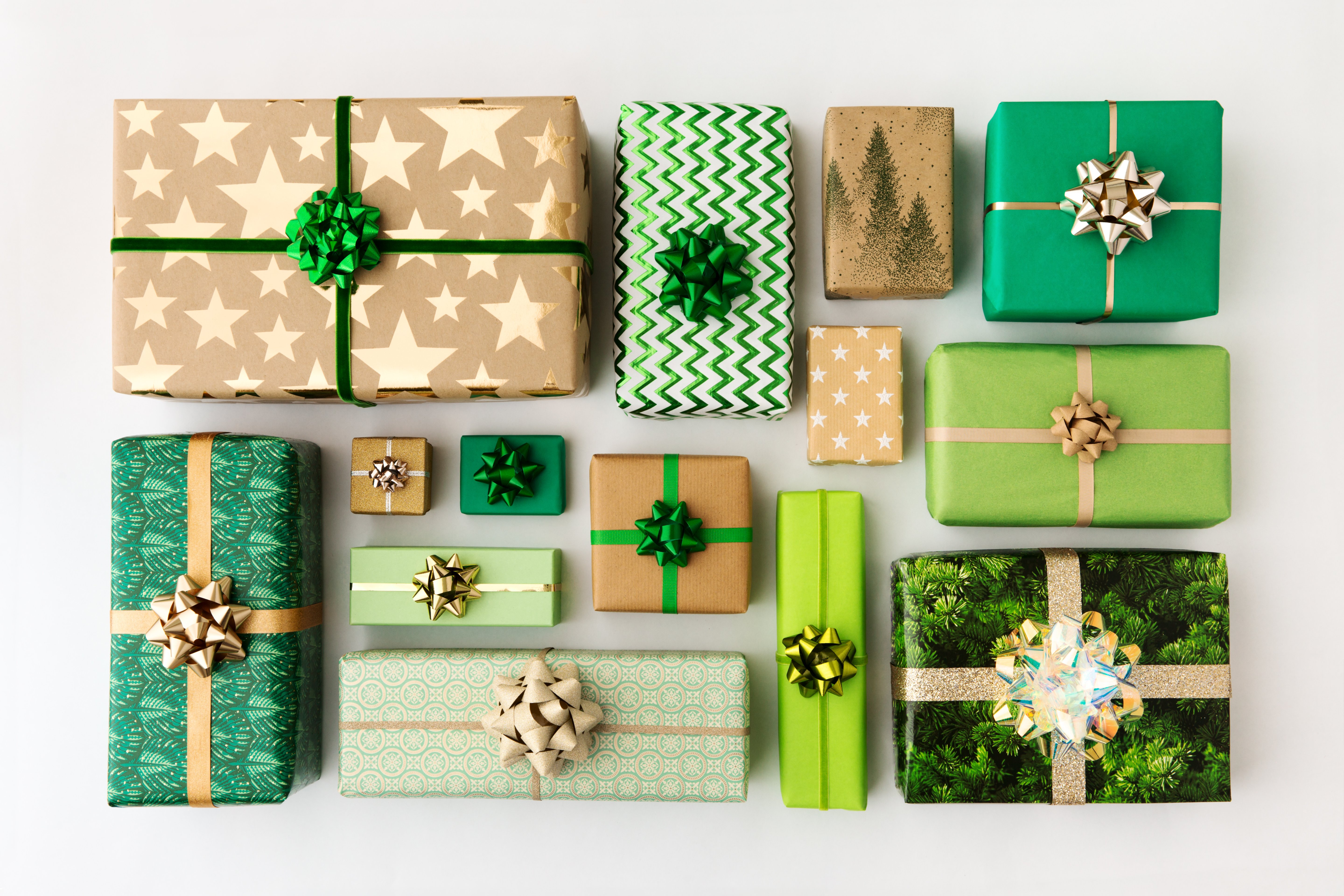 gifts presents green