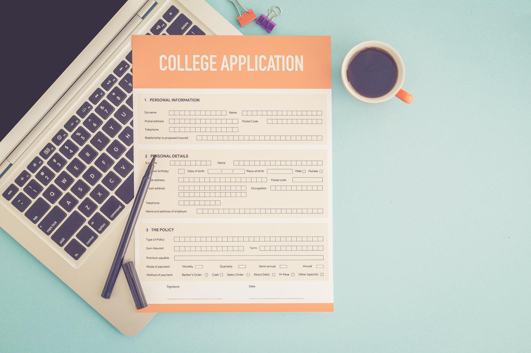 College Application Deadlines