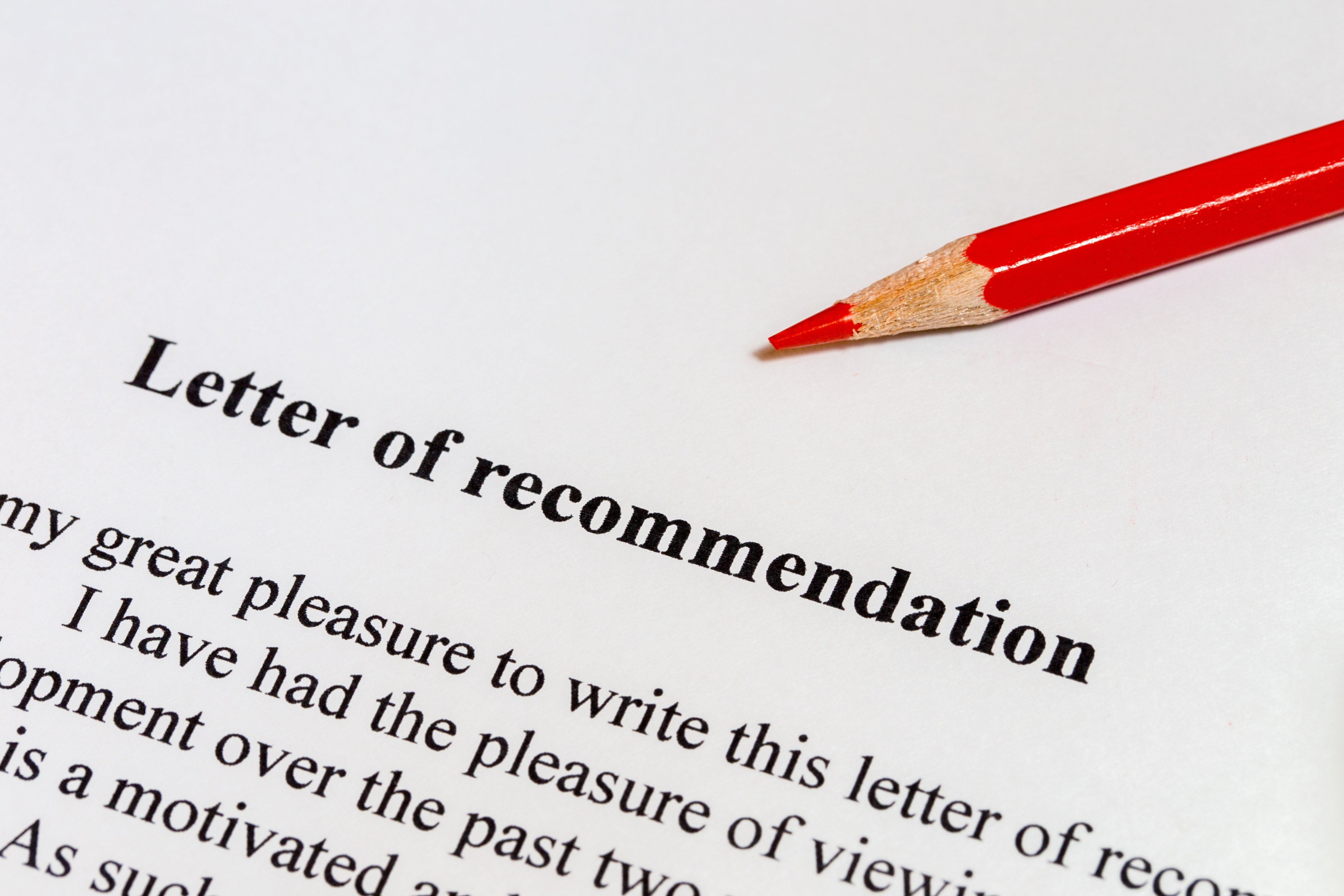 Guide to College Application Recommendation Letters
