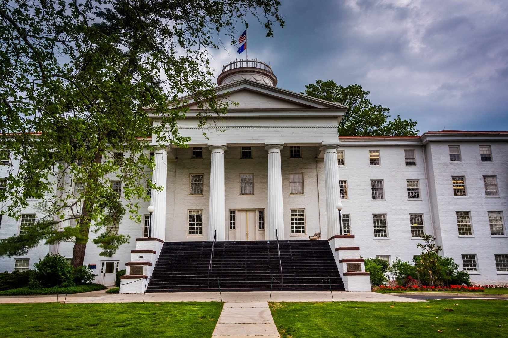 Pennsylvania Hall at Gettysburg College Haunted