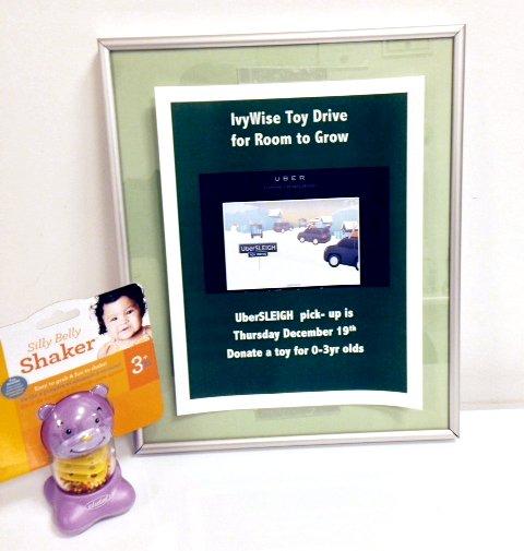 IvyWise UberSLEIGH Toy Drive