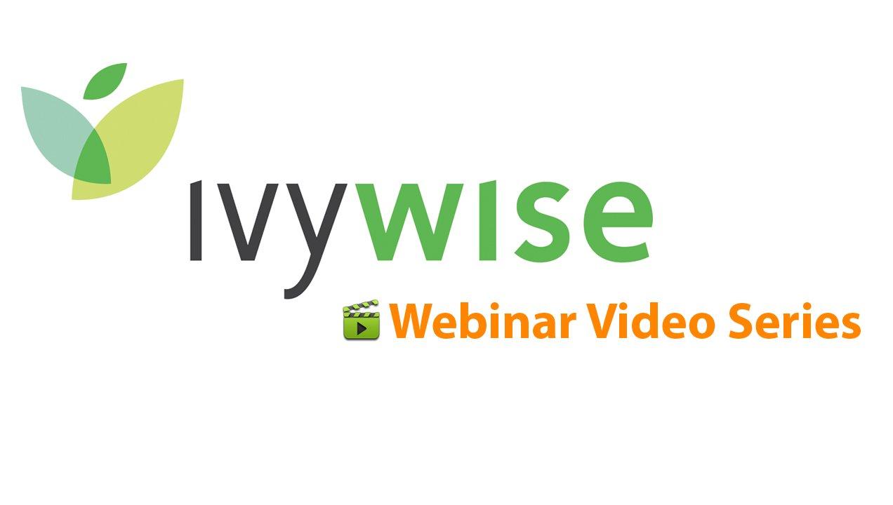 IvyWise Webinars