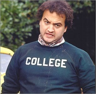 Animal House was filmed at the University of Oregon
