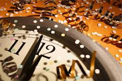 New Year's Resolutions start when the clock hits midnight