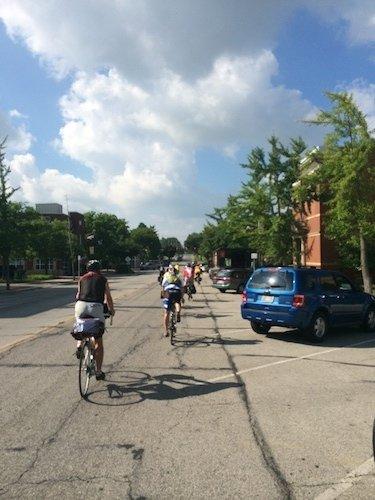 College Counselor Bike Tour