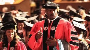 Shaq earned his PhD in 2012
