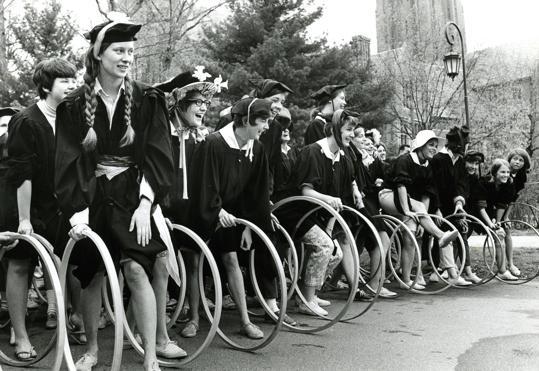 Wellesley grads prepare their hoops